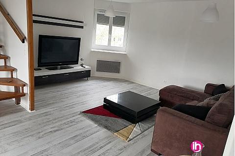 Location de meublé : VILLEFONTAINE Très agréable Appartement duplex de 100 m2 à Villefontaine