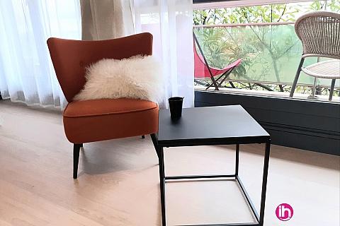 Location de meublé : LE PECQ  studio ENTRE PARIS ET VERSAILLES