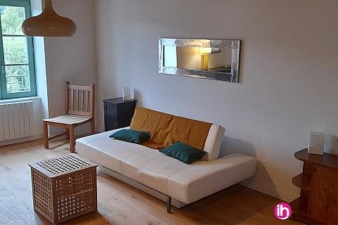 Location de meublé : BUGEY  Appartement T3 - 3, vue sur Rhône au pied de la viarhona Sault Brenaz