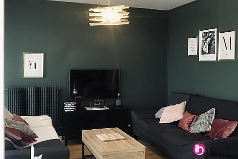 Location pour salarié en déplacement de meublé : ROUEN, 5 chambres en Colocation, dans bel appartement de 130m2 à Rouen