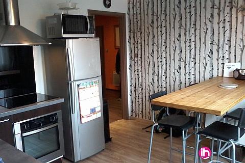 Location de meublé : CATTENOM-THIONVILLE Appartement T3  2 chambres Cadre Champêtre à 15mn de Cattenom