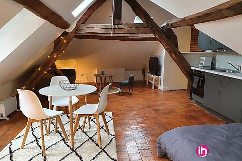 Location de meublé : DAMPIERRE-BELLEVILLE Joli studio cosy à BRIARE