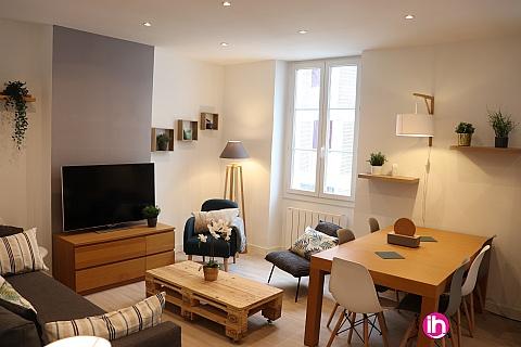 Location de meublé : T3 Meublé Cosy Marseille Joliette