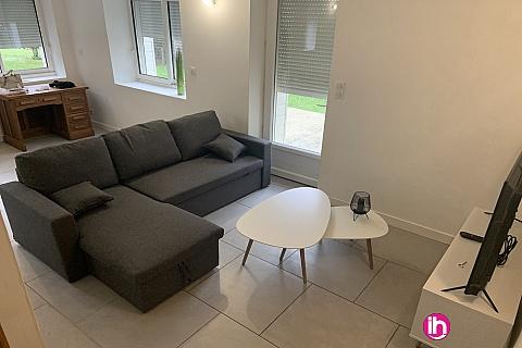 Location de meublé : CIVAUX : Maison 3 chambres à Chauvigny