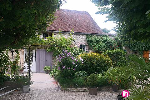 Location pour salarié en déplacement de meublé : Gite au coeur d'une ferme Bourguignonne restaurée - maison 2 chambres, 89400 CHARMOY