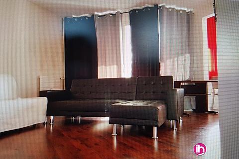 Location de meublé : EVRY hyper centre, près gare RER, gîte 4 pièces, 3 chambres avec terrasse