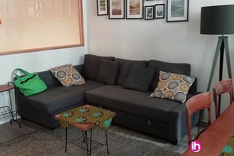 Location pour salarié en déplacement de meublé : MARSEILLE T3 AU CALME