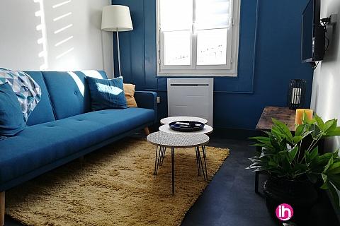 Location de meublé : LIMOGES : Appartement cosy n°5 LIMOGES