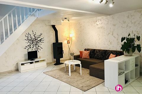 Location de meublé : VAL D' EUROPE  DISNEY maison avec mezzanine +terrasse. Dammartin-sur-Tigeaux