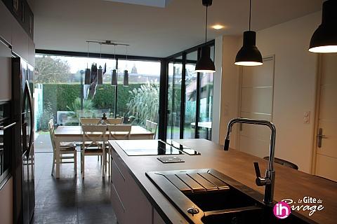 Location de meublé : Maison moderne proche Saint-Omer