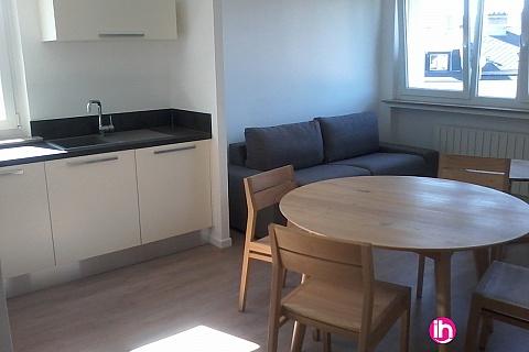 Location de meublé : CATTENOM THIONVILLE  Appartement T2 N°2 - 1-2pers a 15-20mn a pieds de la Gare Bus Luxembourg