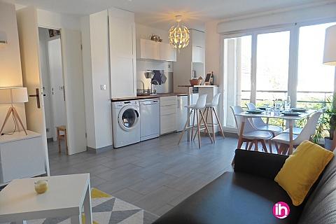 Location de meublé : VAL D'EUROPE  Appartement 2 pièces moderne avec balcon SERRIS