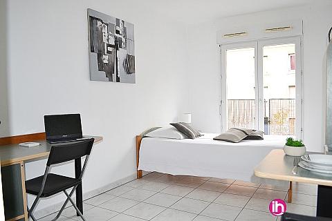 Location de meublé : Aix en Provence Studio meublé en centre-ville à 200m de la gare routière