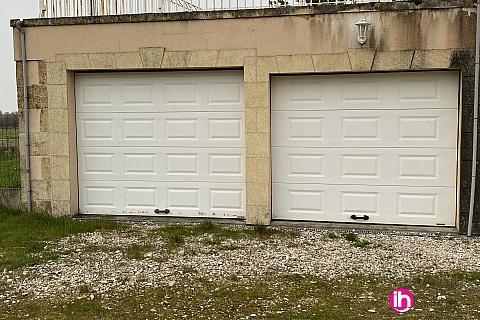 Location pour salarié en déplacement de meublé : BLAYAIS,2 garages, SAINT SEURIN DE CURSAC