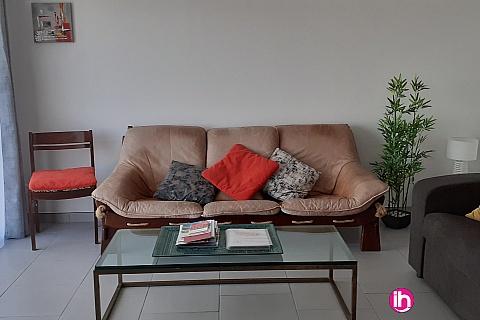 """Location de meublé : MOISSAC, Appartement T3 en rez de jardin, lieu dit """"La mégère"""" à Moissac"""