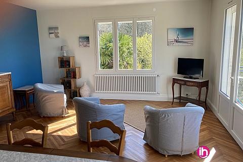 Location pour salarié en déplacement de meublé : BLAYAIS,grand appartement 3 chambres 15 mn centrale, SAINT CIERS SUR GIRONDE