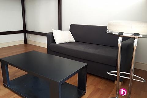 Location pour salarié en déplacement de meublé : DAMPIERRE GIEN Studio tres sympa avec terrasse a 2 pas des quai de Loire, GIEN