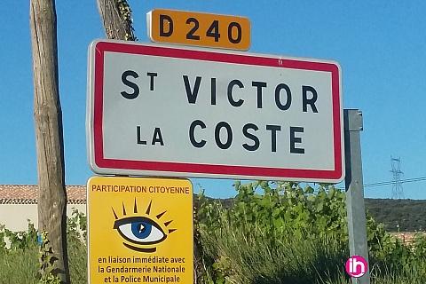 Location pour salarié en déplacement de meublé : Saint Victor: Gîte dans Mas provençal