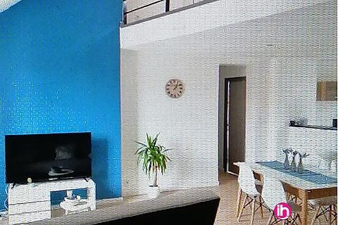 Location de meublé : LENS LA BASSEE T2 duplex de type loft tout confort 4 personnes max