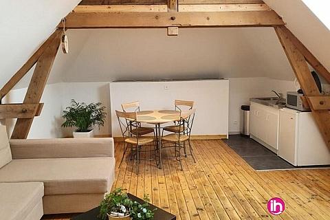 Location de meublé : LENS HEBUTERNE Spacieux T2 tout confort 4 personnes max