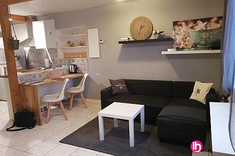 Location de meublé : LENS T1 Duplex 1er étage gauche tout confort 2 personnes max