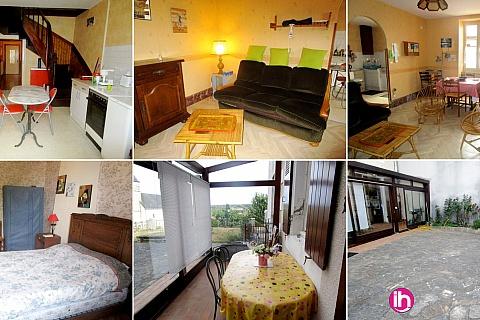 Location pour salarié en déplacement de meublé : CIVAUX QUEAUX MAISON AVEC COURETTE