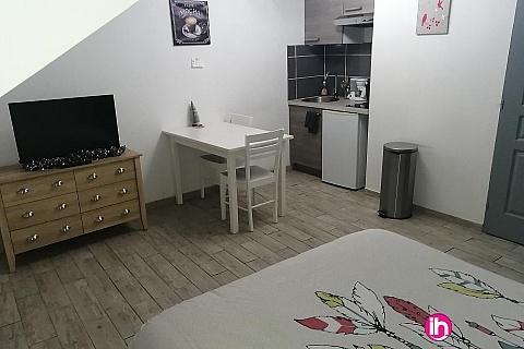 Location de meublé : LIEVIN LENS Studio 1er étage tout confort 2 personnes max