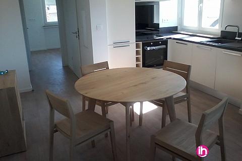 Location pour salarié en déplacement de meublé : CATTENOM THIONVILLE  Appartement T2 N°12 - 1-2pers a 15-20mn a pieds de la Gare Bus Luxembourg