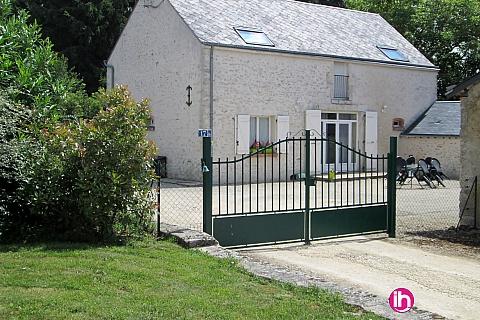 Location de meublé : ST LAURENT NOUAN maison( 5 pers) La Chapelle Saint Martin en Plaine