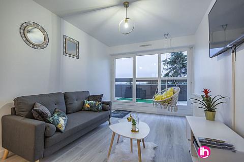 Location de meublé : PONTOISE 5 Chambres + Rooftop  30 minutes de Paris à pontoise