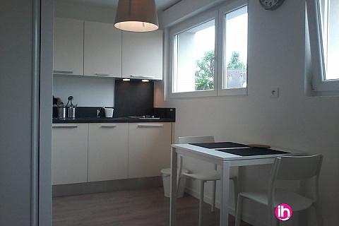 Location pour salarié en déplacement de meublé : CATTENOM THIONVILLE  Studio 26 1pers a 15-20mn a pieds de la Gare Bus Luxembourg