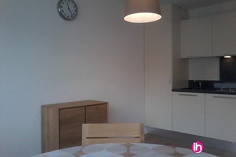Location pour salarié en déplacement de meublé : CATTENOM THIONVILLE  Appartement T1 N° 14 - 15-20mn a pieds de la Gare Bus Luxembourg