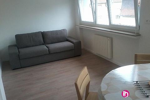 Location de meublé : CATTENOM THIONVILLE  Appartement T1 N°13 - a 15-20mn a pieds de la Gare Bus Luxembourg