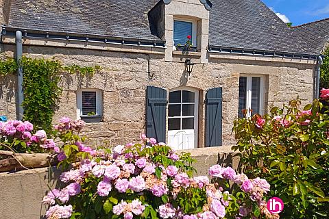 Location de meublé : VANNES- LOCMINE - LORIENT, Maison en pierre, Melrand