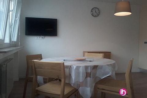 Location pour salarié en déplacement de meublé : CATTENOM THIONVILLE  T1 24 a 15-20mn a pieds de la Gare Bus Luxembourg