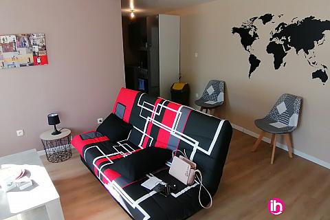 Location de meublé : GRAVELINES - T3 refait à neuf en rez de chaussée à BOURBOURG