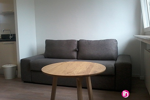Location pour salarié en déplacement de meublé : CATTENOM THIONVILLE  T2 15 1-2pers a 15-20mn a pieds de la Gare Bus Luxembourg