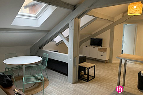 Location de meublé : LIMOGES T2 sous les toits