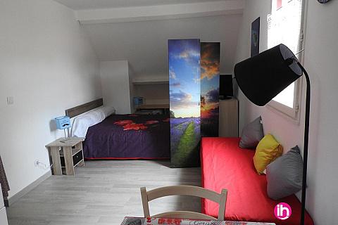 Location de meublé : BRIVE LA GAILLARDE Studio Bleu CUREMONTE