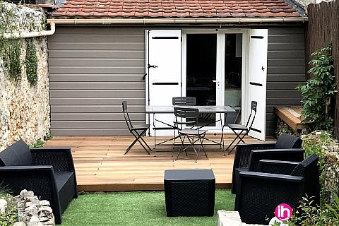 Location de meublé : MEAUX T2 hyper centre avec jardin MEAUX