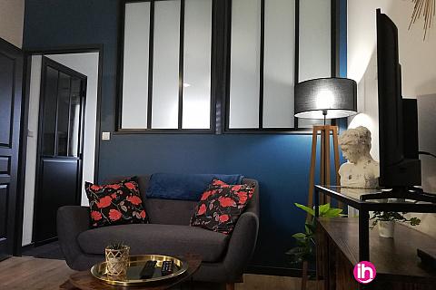 Location de meublé : LIMOGES : Studio cosy n°6 Limoges