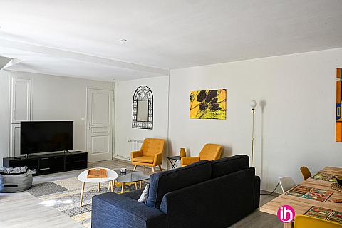 Location pour salarié en déplacement de meublé : CHINON Maison indépendante très calme proche toutes commodités à  5 mm CNPE , Beaumont en Veron