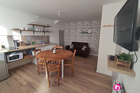 Location pour salarié en déplacement de meublé : SAINT AMAND SUR SEVRE ,appartement 2 Chambres, Saint Amand Sur Sèvre