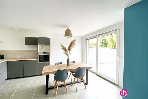 Location de meublé : CAMBRAI/VALENCIENNE/ maison 3chambres  /THUN SAINT MARTIN