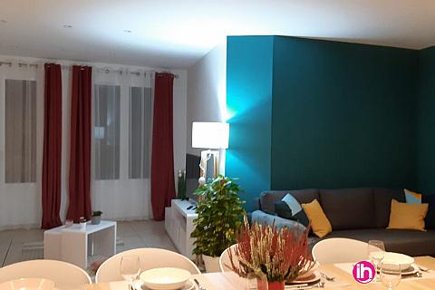Location pour salarié en déplacement de meublé : Lunel : Grand T3,emplacement exceptionnel, proche toutes commodités.