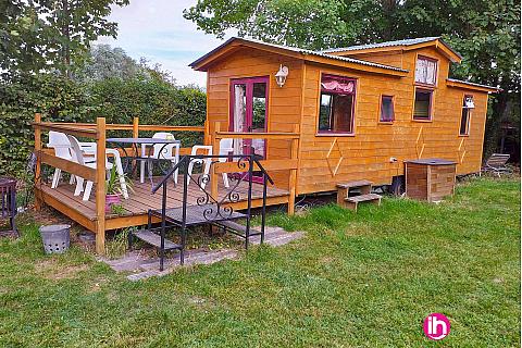 Location de meublé : GRAVELINES/ tiny house toute equipée/ LOOBERGHE