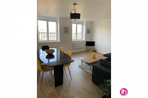 Location de meublé : LILLE/Appartement lumineux/ ROUBAIX CENTRE
