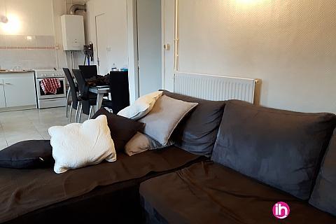 Location de meublé : DAMPIERRE GIEN Appartement T2 entierement renové