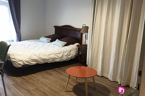 Location pour salarié en déplacement de meublé : MARCOULE TRICASTIN PONT ST ESPRIT T1 entierement renové, bagnols sur Cèze