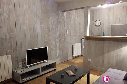 Location de meublé : DAMPIERRE BELLEVILLE TRES BEAU T2 ENTIEREMENT REFAIT PLEIN CENTRE VILLE   GIEN